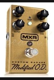MXR Custom Badass Overdrive Sparkly Gold Limited