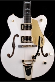 Gretsch Electromatic G5422TDCG Electromatic HB White Gold Hardware