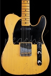 Fender Jason Smith Masterbuilt 51 Nocaster Butterscotch Blonde