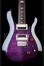 PRS SE Custom 24 Purple Burst Limited Beveled Top