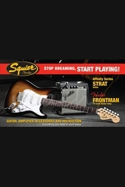 Squier Affinity Series 10G Strat Pack Brown Sunburst
