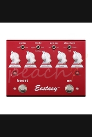 Bogner Ecstacy Red Pedal