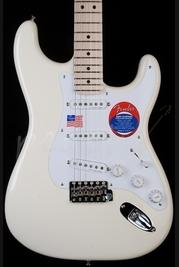 Fender Eric Clapton Signature Strat Olympic White