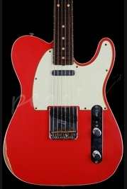 Fender Custom Shop 1960 Tele Relic Fiesta Red Top Bound