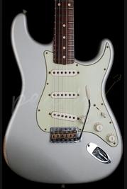 Fender Custom Shop 60's Strat Relic Inca Silver