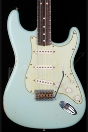 Fender Custom Shop 1963 Relic Strat Faded Sonic Blue