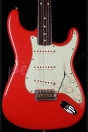 Fender 'Tone Machine' 62 Relic Strat Faded Fiesta Red