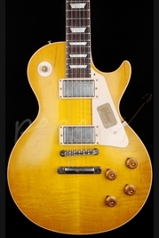 Gibson Custom 1958 Les Paul VOS Lemonburst Plaintop 2013 Spec
