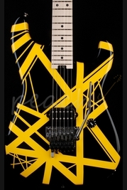 EVH Striped Series Black Yellow
