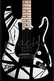 EVH Striped Series Black White