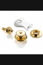 Loxx Nickel Strap Locks Gold