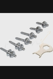 Loxx Nickel Strap Locks Screw Set