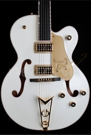 Gretsch G6139CB Falcon Centre-Block Single Cutaway White