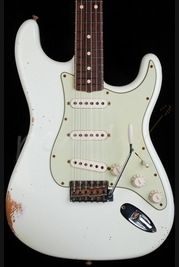 Fender Custom Shop 1960 Relic Strat Olympic White