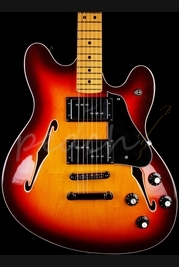 Fender Starcaster Aged Cherry Burst Maple Neck