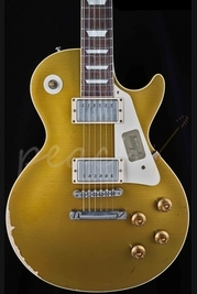 Gibson Custom 1957 Heavily Aged Les Paul Goldtop 2013 Spec