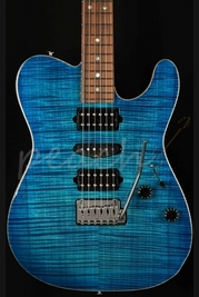 Suhr Classic T Aqua Blue Burst with Pau Ferro Neck