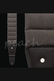 Mono Betty Guitar Strap Ultrasuede Smoke Grey Long