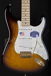 Fender USA 60th Anniversary Strat Maple 2 Tone Sunburst