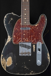 Fender Custom Shop 60 Tele Custom Heavy Relic Black