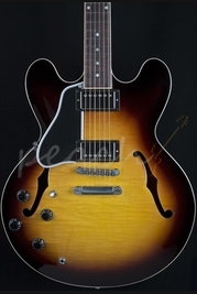 Gibson ES 335 Dot Gloss Left Handed Vintage Sunburst