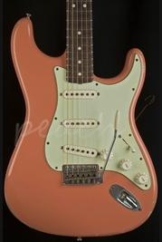 Fender Custom Shop Dealer Select 63 Relic Strat Dark Coral Pink Used