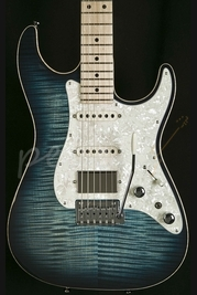 Tom Anderson Drop Top Classic Arctic Blue Burst With Binding
