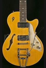 Duesenberg Starplayer TV Trans Orange with Hardcase
