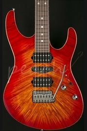 Suhr Modern Hand Picked Burl Maple Fireburst