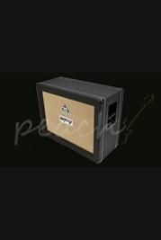 Orange 2x12 Closed Back Speaker Cabinet Black
