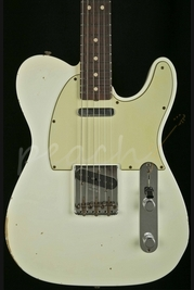 Fender Custom Shop 1963 Tele Relic Olympic White