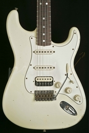 Fender Custom Shop '65 Strat Relic Aged Olympic White