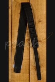Peach Padded Leather Strap Black