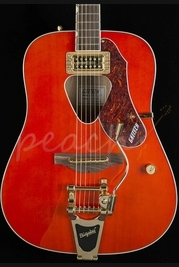 Gretsch G5034TFT Rancher Dreadnaught Bigsby Savannah Sunset