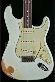 Fender Custom Shop 1959 Heavy Relic Strat Olympic White