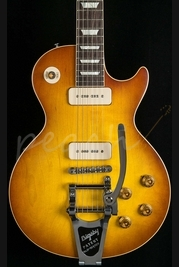 Gibson Custom '56 Les Paul w/Bigsby Sunrise Tea Burst VOS M2M