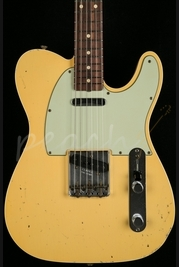 Fender Custom Shop 1960 Tele Custom Relic Aged Vintage White