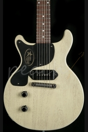 Gibson Custom Les Paul Junior Doublecut TV White Left Handed