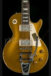 Gibson Custom 1957 Heavily Aged Les Paul Goldtop 2014 Spec Bigsby
