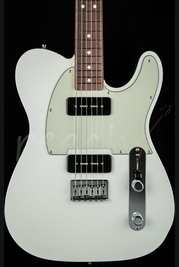 Fender Custom Shop Double P90 Tele Reverse Headstock Olympic White