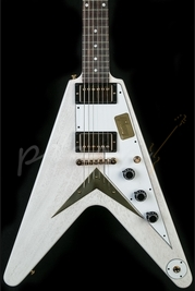 Gibson Custom 1959 Flying V TV White