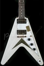 Gibson Custom 1959 Flying V TV White