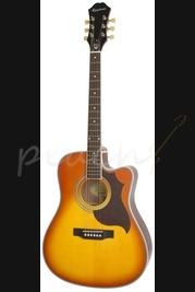 Epiphone FT-350SCE Vintage Burst Min-E Tune Acoustic