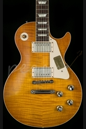 Gibson Custom 1960 Les Paul Plain Top VOS Dirty Lemon