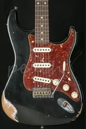 Fender Custom Shop Heavy Relic 60' Strat Black