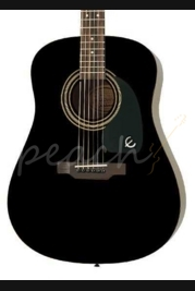 Epiphone DR-100 Acoustic Guitar Ebony