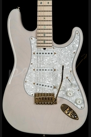 Suhr Classic Trans White with Gold Hardware SSCII