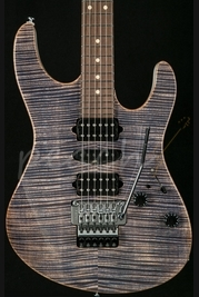 Suhr Modern Trans Blue Denim With White Back