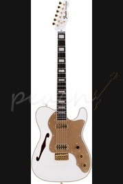 Fender FSR 72 Thinline Tele RW White