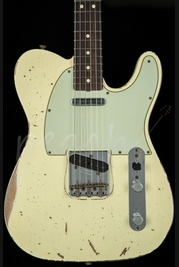 Fender Custom Shop 64 Super Heavy Relic Telecaster Vintage White